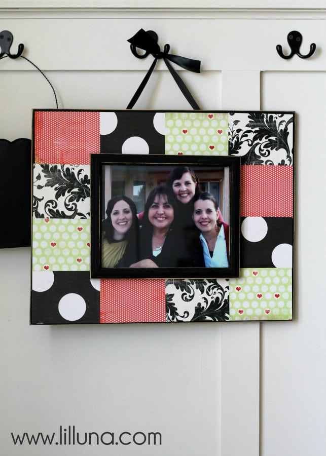 Sbook Frame Tutorial This Is An Inexpensive But Great Gift Idea And Craft