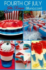 FUN Fourth of July Jell-O Recipes on { lilluna.com }