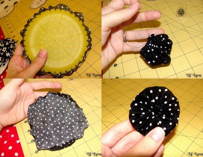 Cute and Inexpensive DIY Fabric Headbands - great gift idea!! #headband { lilluna.com }