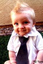 Reversible Baby Boy Ties Tutorial