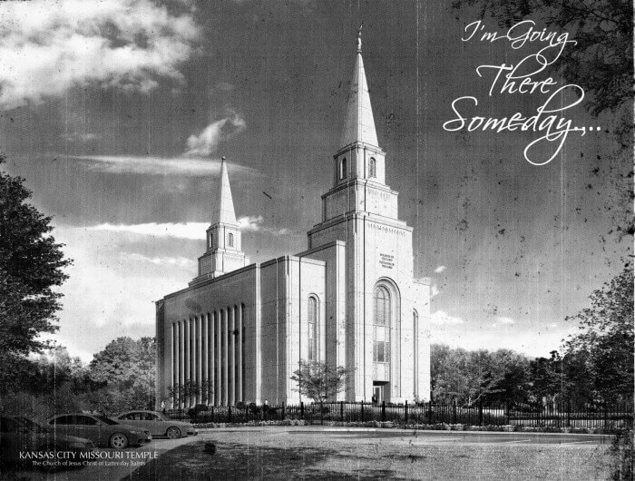 How to make LDS Temple Blocks that are cute and made for a dollar!! Lots of temple pictures to choose from on { lilluna.com }