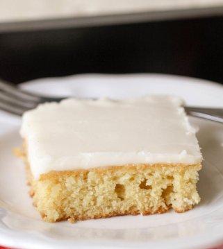 Easy Lemon Cake With Lemon Buttercream Frosting Video