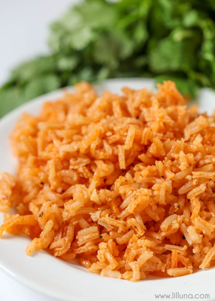 This Best Spanish Rice Recipe is Easy and Homemade | Lil' Luna