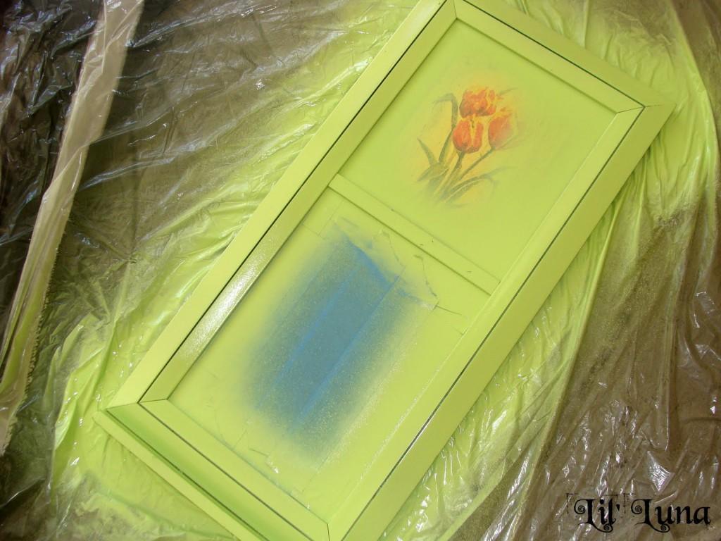 Tutorial for a cute, personalized chalkboard made from super cheap materials!! { lilluna.com }
