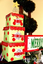 Gift Box Christmas Tree