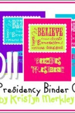 Young Womens 2011 Theme Binder Covers