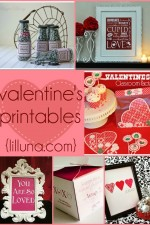 Adorable Valentine's printables!! Free to print and use for super cute Valentine's gifts! { lilluna.com }-001