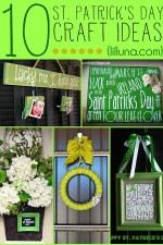 10 ADORABLE St. Patrick's Day Craft Ideas on { lilluna.com }