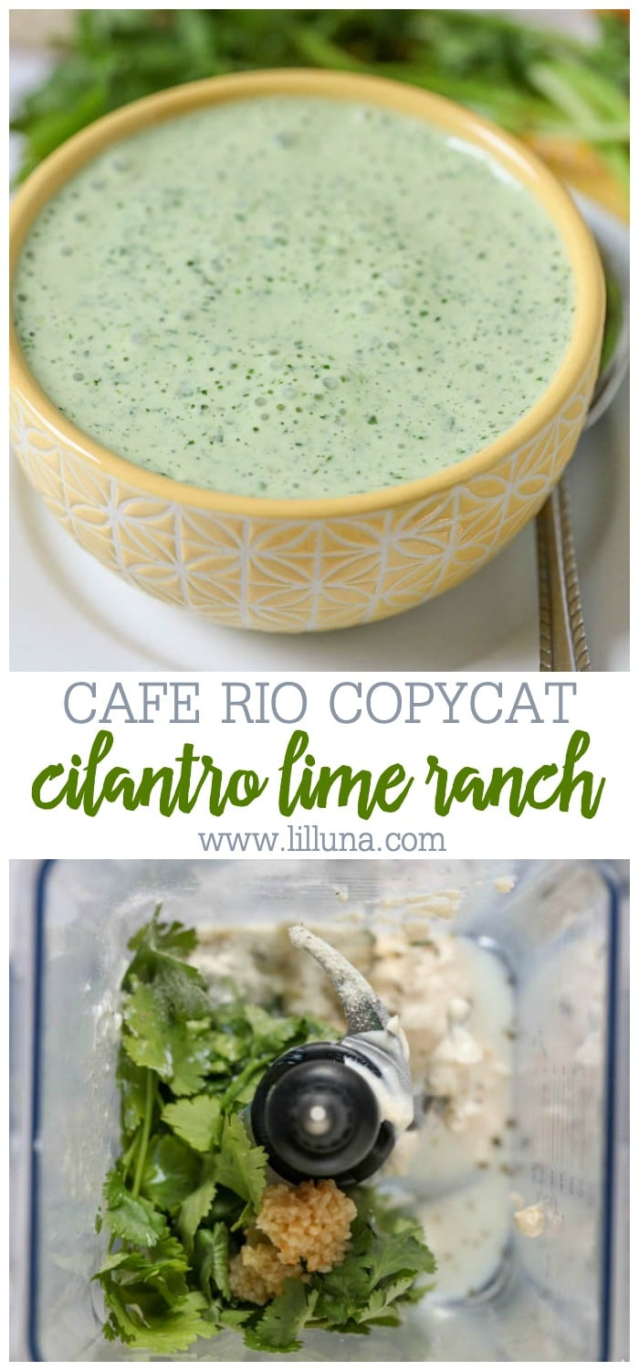 Collage for Cafe Rio House Dressing Copycat Recipe