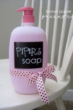 Personalized Baby Soap