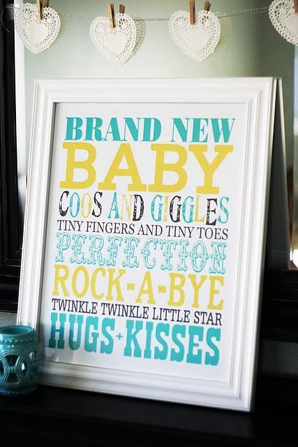Baby Daze Recap - all kinds of baby crafts, tutorials, and printables! { lilluna.com }