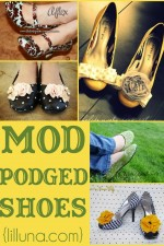 Mod Podged Shoes