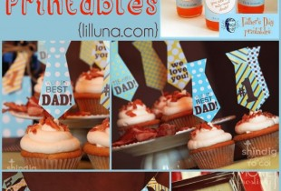 FREE Father's Day printables!! { lilluna.com }