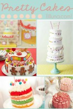 Pretty Cakes (Part 1)  - so many GORGEOUS and YUMMY looking cakes! { lilluna.com }