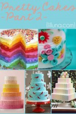 Pretty Cakes (Part 2) - SO many gorgeous and delicious looking cakes! Just can't get enough! { lilluna.com }