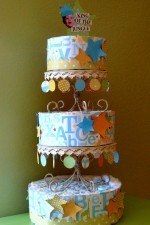 Paper Diaper Cake Tutorial #2