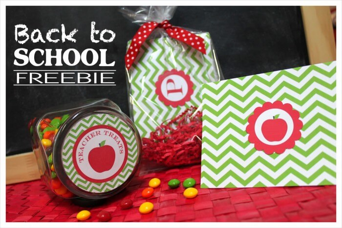 Back to School Printables on { lilluna.com } Cute ideas for teachers!!