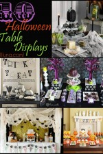 10 Halloween Table Displays! Soo fun for Halloween party decor! { lilluna.com }