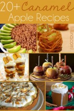 20+ Caramel Apple Recipes! So many delicious recipes for fall festivites!! { lilluna.com }