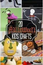 Halloween crafts for kids, a must-see collection!! { lilluna.com }