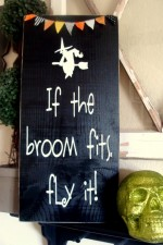 If the Broom Fits Sign