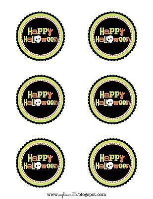image regarding Printable Halloween Tags named Totally free Halloween Tags
