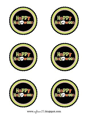 FREE Halloween Tags - a collection of free printable tags on { lilluna.com }