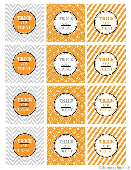 graphic relating to Halloween Printable named Totally free Halloween Tags