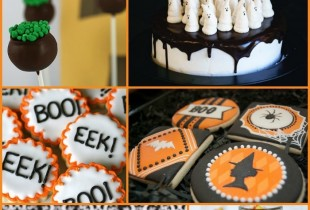 20+ Halloween Cakes, Cookies and Pops IDEAS! So many creative and tastey looking ideas!! { lilluna.com }