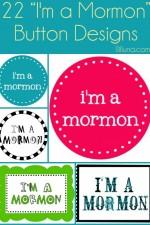 I'm a Mormon BUTTONS