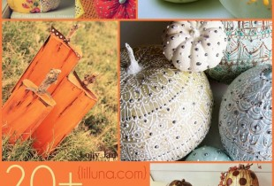 A collection of 20+ Pumpkin Craft IDEAS perfect for Halloween!! { lilluna.com }