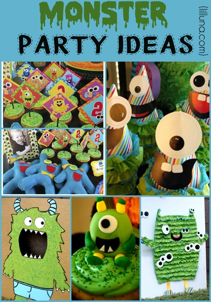 monster party monster tutorial