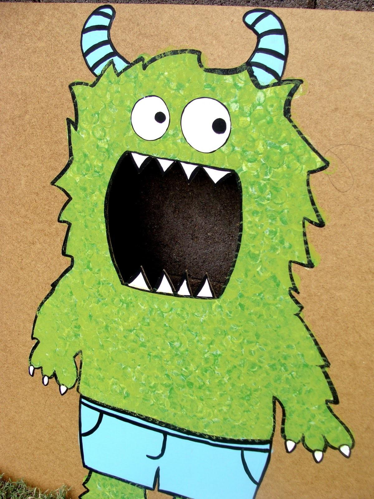 monster party monster tutorial