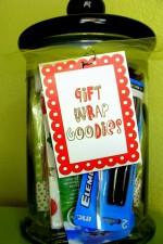 Christmas Gift Wrap Goodies Gift