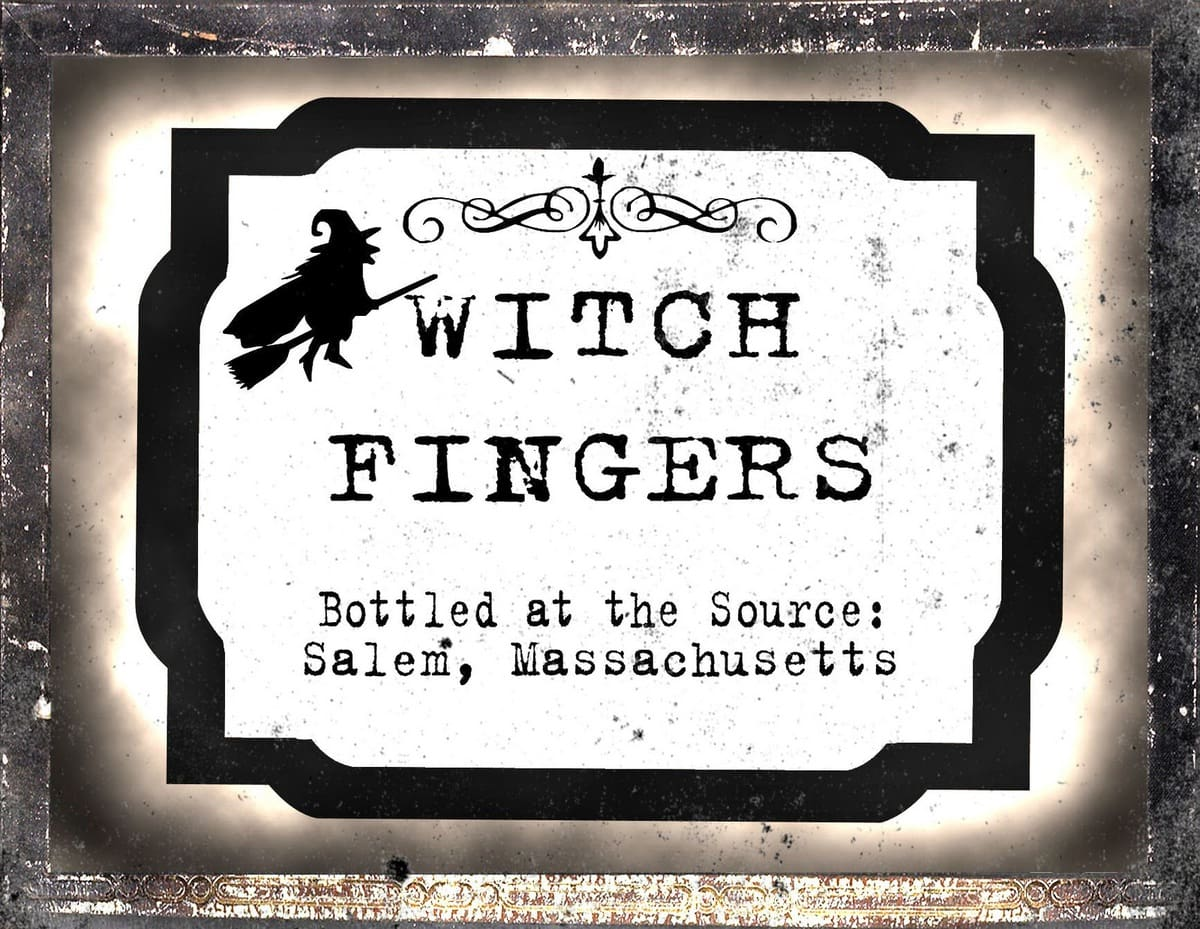 Vintage Halloween Jar Labels - perfect for a Halloween party. Comes with blank labels too. { lilluna.com }