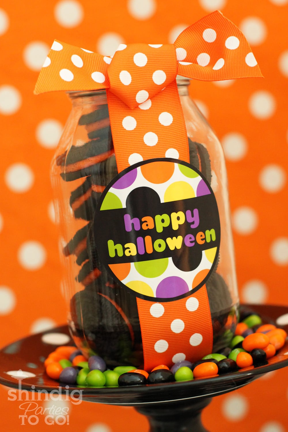 Free Halloween Printables on { lilluna.com } Super cute as tags or labels!
