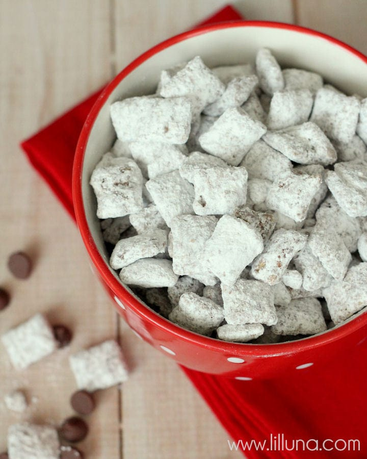 how to make puppy chow with chex mix cereal