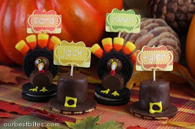 10 Thanksgiving Treats on { lilluna.com } A collection of yummy and cute treats for your party!