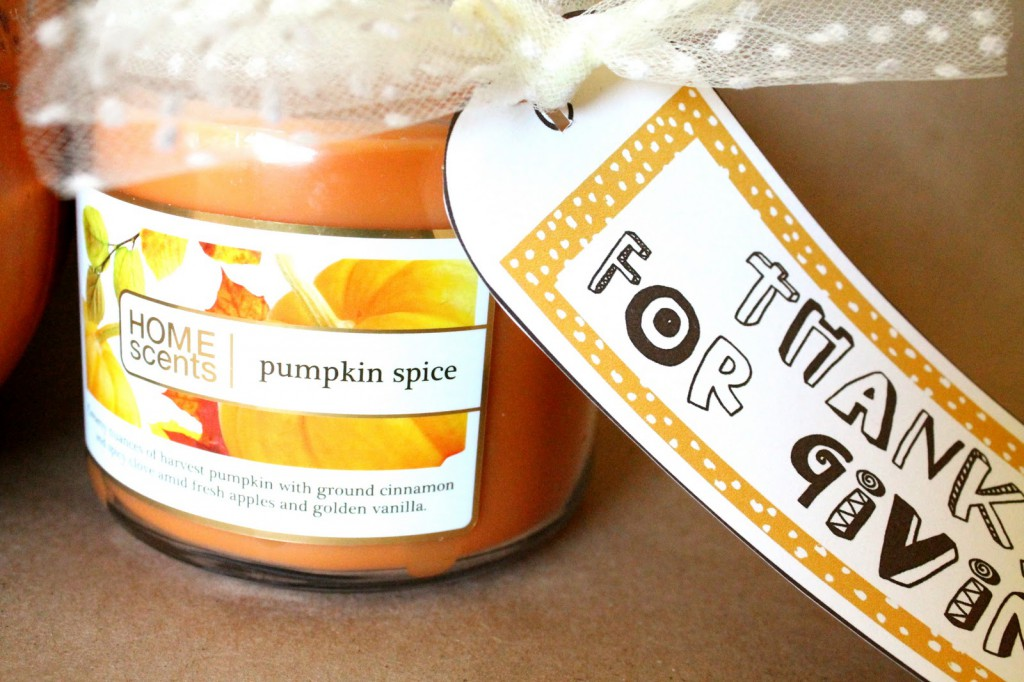 Thanksgiving Gift Tag Printable from { lilluna.com }