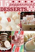 15+ Peppermint Desserts