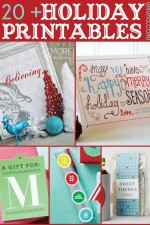 A collection of over 20 Christmas Printables perfect for printing this holiday season! { lilluna.com }