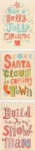 A collection of over 20 Christmas Printables perfect for printing this holiday season! { lilluna.com }