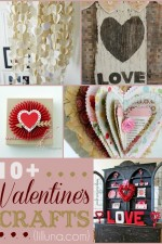 10 Valentines Crafts