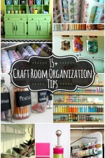 15+ Craft Room Organization Ideas