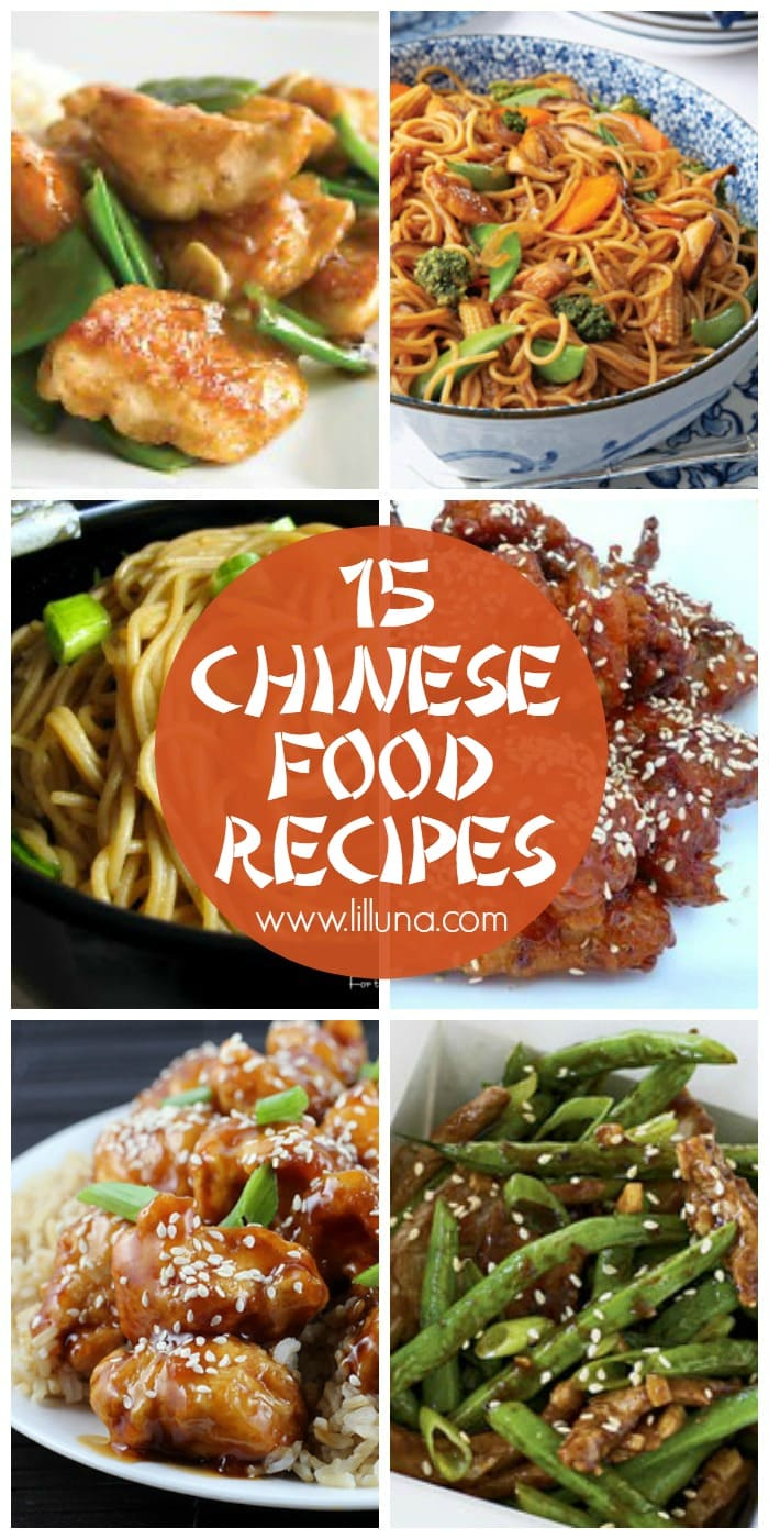 A roundup of 15+ delicious Chinese food recipes that you need to try! Check it out on { lilluna.com }