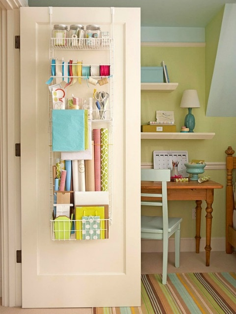 Craft room organization Craft storage ideas