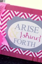 YW Arise and Shine Forth Blocks
