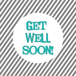 Free Get Well Soon Tags on { lilluna.com } The perfect tag for those get well gifts