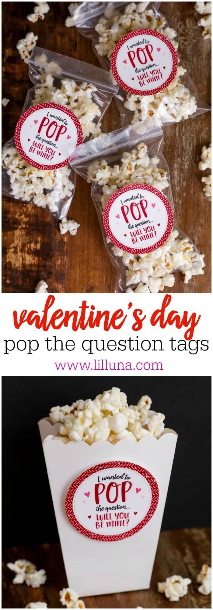 photo relating to Pop Rocks Valentines Printable named Valentine Popcorn Address
