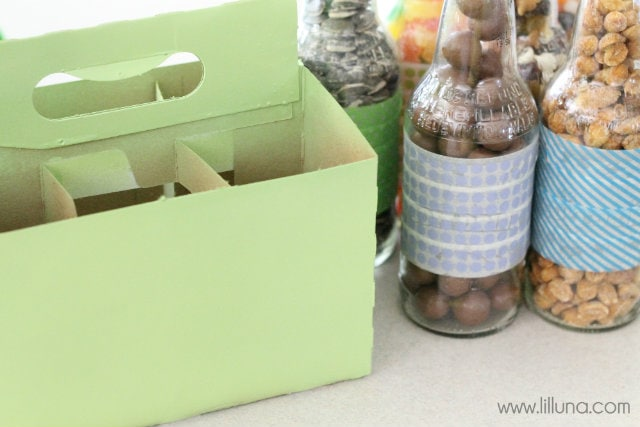 Birthday Boy Pop Box Set - LOVE this idea!! Free prints on { lilluna.com } Fill with the birthday boys fav treats!